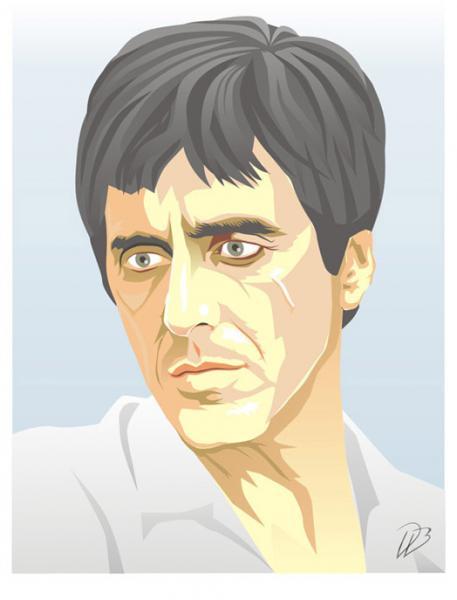 Al Pacino - Scarface - Movie Art Print