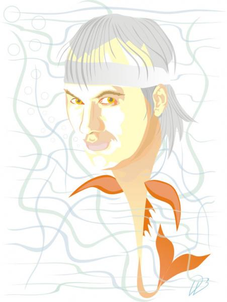 Fish - Marillion Art Print