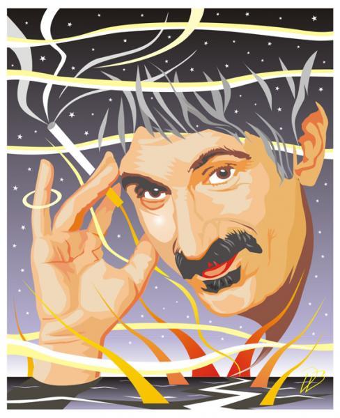 Frank Zappa & The Mothers- FZ Universe-Art Print