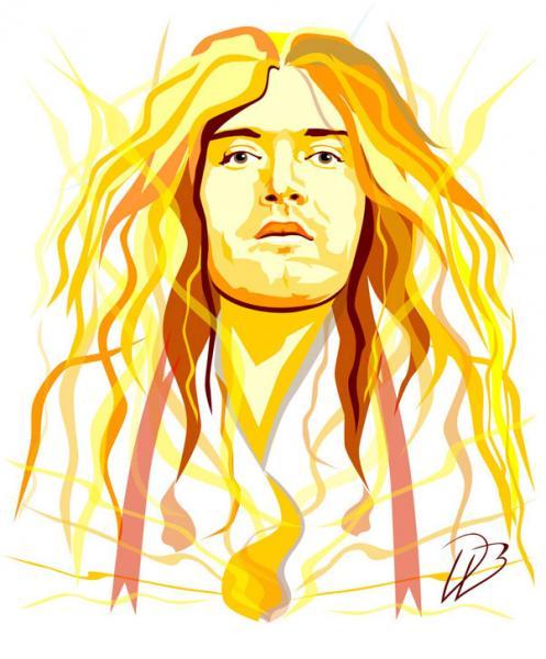 Glenn Hughes - Burn - Trapeze Deep Purple Art Print