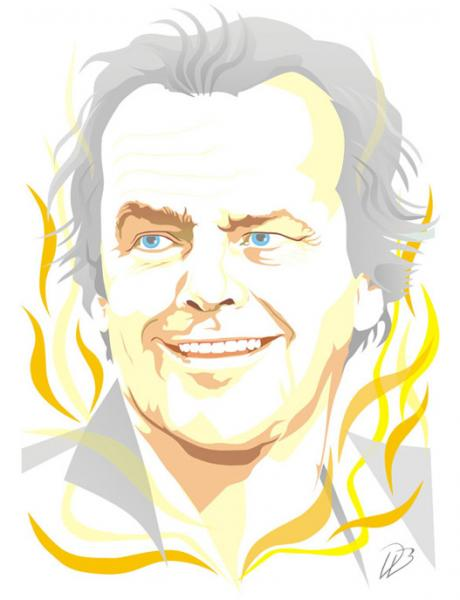Jack Nicholson - Movie - Art Print