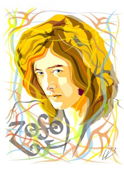 Jimmy Page - Led Zeppelin  Art Print