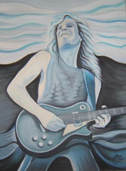 John Sykes - Cold Sweat blue