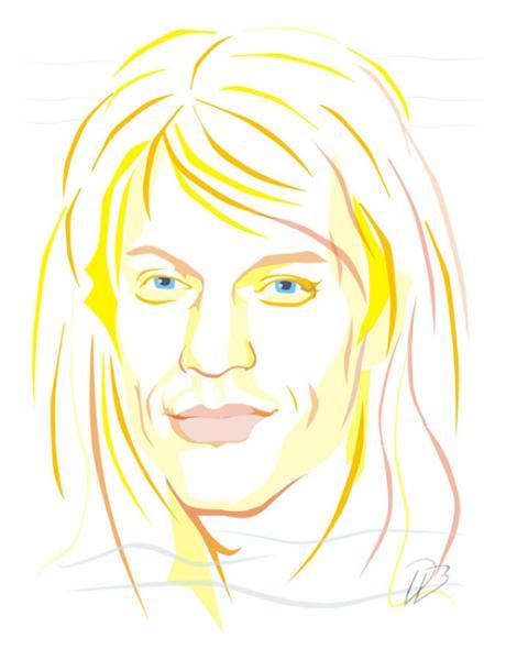 Jon Bon Jovi - Art Print