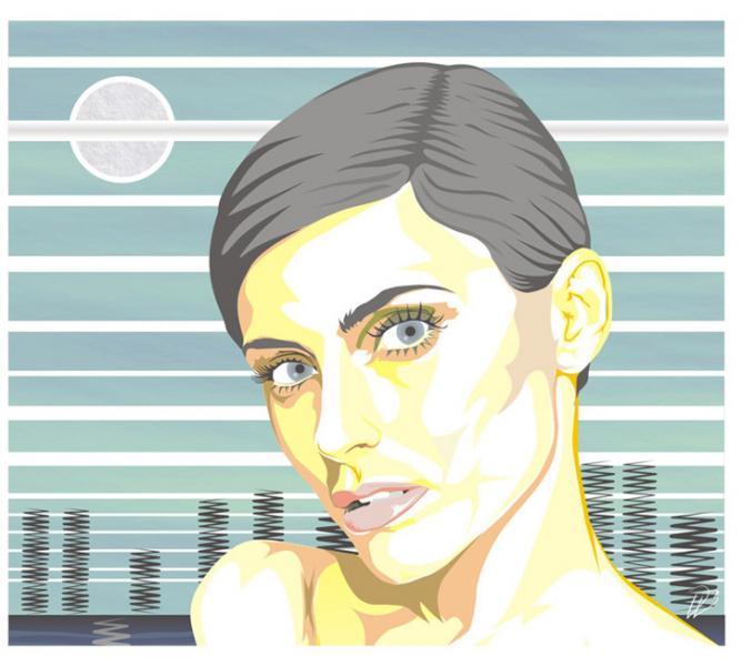 Nelly Furtado - Art Print