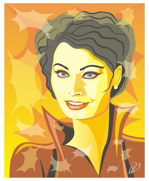 Sophia Loren - Movie Art Print