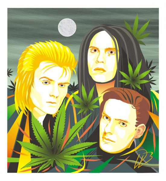 The Cult - Wild Flowers Ian Astbury Billy Duffy Jamie Stewart Art Print