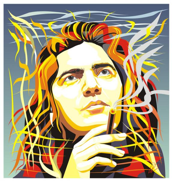 Tommy Bolin - The Dreamer-DEEP PURPLE James Gang Art Print